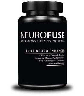 Neurofuse Powerful Focus & Memory Nootropic Pill - Formula Helps Support Memory, Cognitive Function, Focus & Clarity –Reduce Brain Fog & Fatigue 30 Capsules