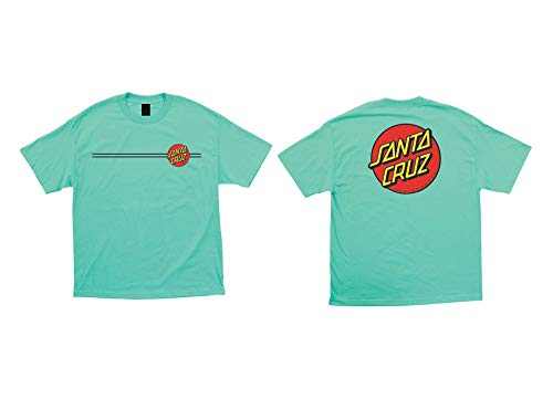 Santa Cruz Classic Dot T-Shirt - Celadon - MD