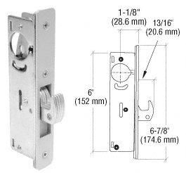 CRL 1-1/8u0026quot; Backset Narrow Stile Hook Latch Deadlock  sc 1 st  Amazon.com & CRL 1-1/8