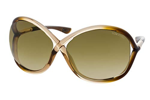 Tom Ford Sunglasses - Whitney / Frame: Champagne Fade Lens: Brown Gradient (Tom Ford Sunglass Lens)