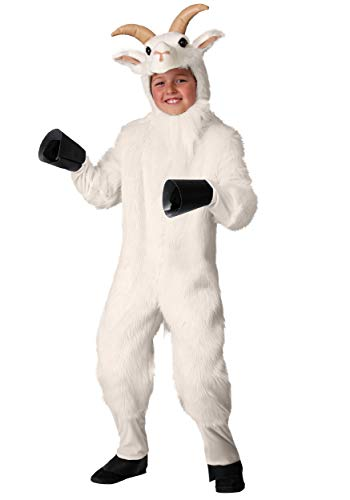Child's Mountain Goat Costume Small White -