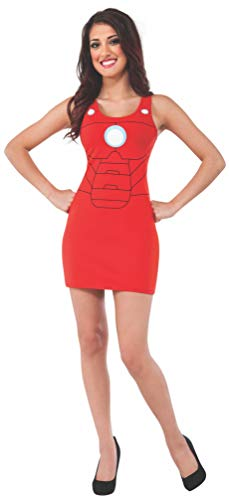 Rubie's Women's Marvel Universe Adult Iron Man Rescue Tank Dress, Multi, Small ()