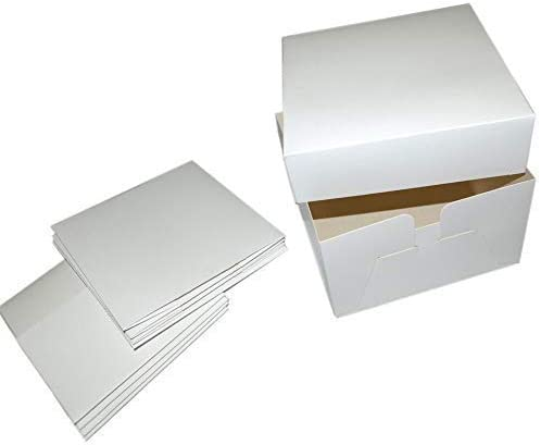 We Can Source It Ltd - Lote 5 Pack Blanco Pastel Cajas - Caja ...