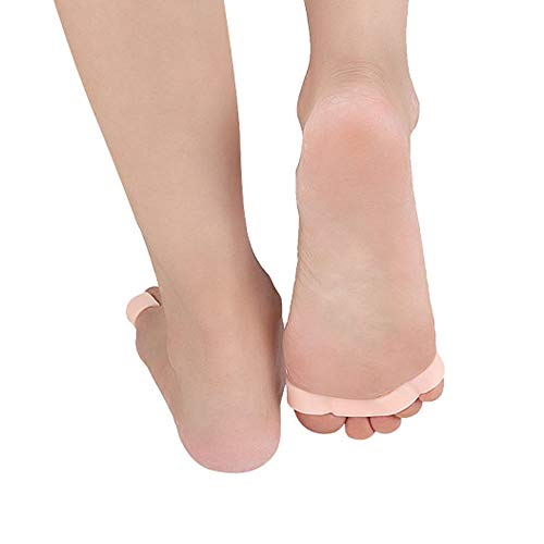 1Pair of Five Toes Bunion Corrector Hallux Valgus Corrector Day Night Toes Correction Feet Care Snail shape by XXJKHL (Image #4)