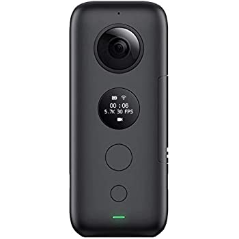 Insta360 ONE X 360 Camera, with FlowState Stabilization (SD Card Sold Independently, V30 microSDXC is Required)