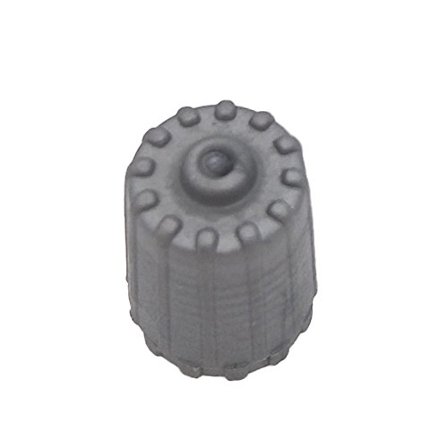 car tire valve caps grey - 1