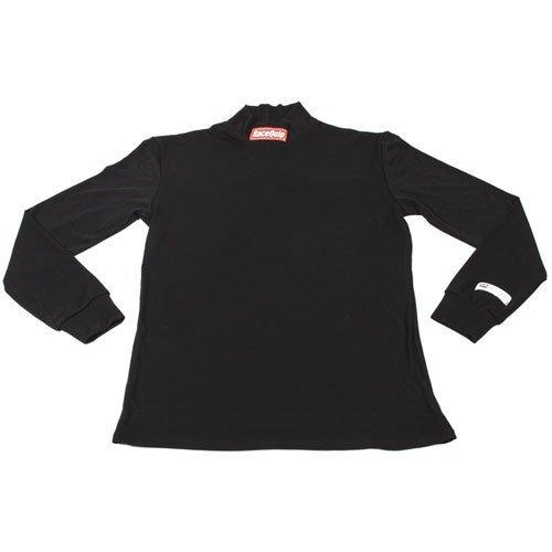 RACEQUIP/SAFEQUIP Underwear Top FR Black Large SFI 3.3