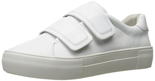 JSlides Women's Adelynn Fashion Sneaker, White, 7.5 M US