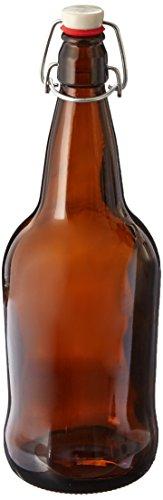 oz Amber Cap Kombucha Bottle product image