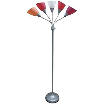Room Essentials 174 5 Head Floor Lamp Pink Amazon Com