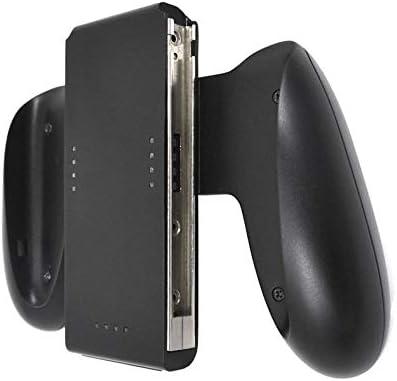KEHUITONG ドックステーション充電器有料充電グリップハンドルはNintendスイッチNSジョイパッドハンドルブラケット用ホルダースタンド (色 : ブラック)