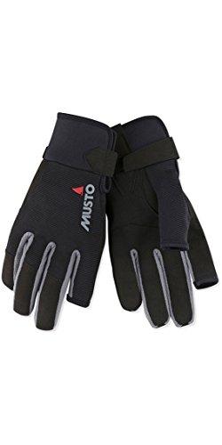 Musto Essential Long Finger Sailing Gloves - 2018 - Black L ()