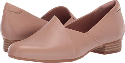 CLARKS Women's Juliet Palm Loafer Praline Leather 95 N ()