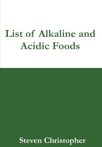 acid alkaline food chart - 6