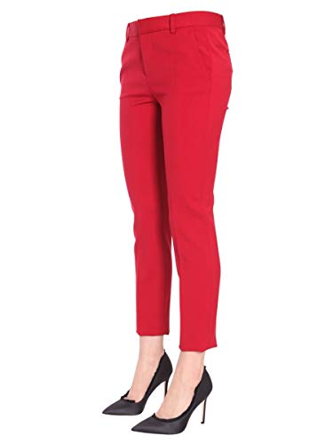 Rojo Lana S75ka0792s36258307 Mujer Dsquared2 Pantalón EzqOtxq5w
