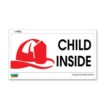Amazoncom Child Inside Home Firefighter Fireman Alert Window - Window alert decals amazon