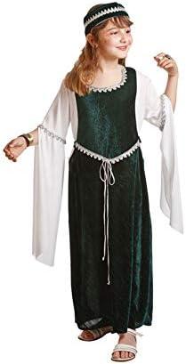 Disfraz de medieval para niña (10-12 años): Amazon.es: Juguetes y ...