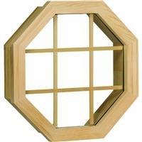- Wood Octagon Single Window