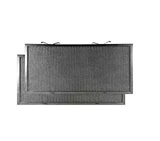 2 PACK Air Filter Factory Compatible Replacement For AP2020622 GE Compatible Aluminum Mesh Grease Filter