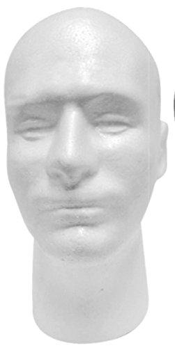Male Mannequin Styrofoam Head 11