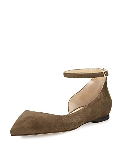Jimmy-Choo-Lucy-Suede-Half-dOrsay-Flat-Moss-36