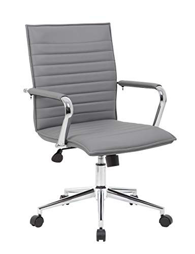 Boss Office Products B9533C-GY Hospitality Chair Grey