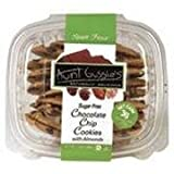 Aunt Gussies Spelt Chocolate Chip Cookies with Almonds -- 7 oz