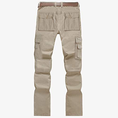 Hommes color Size Décontractés Et Unie Green Beige Automne Nalkusxi Nouveaux Pantalons 40 Printemps De Couleur Pour TRPOWnvx