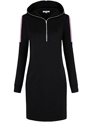 Zip Hoodie Dress - 2