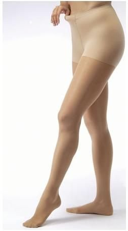 BSN Medical 121478 Jobst Ultra Sheer Compression Stocking with Closed Toe, Waist High, Medium, 30 mm - 40 mm HG Size, Natural