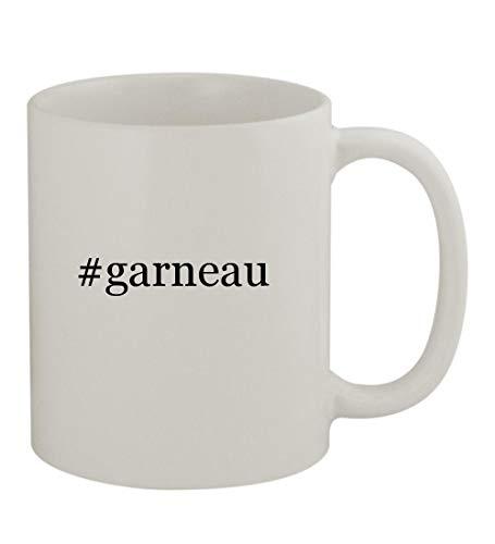 #garneau - 11oz Sturdy Hashtag Ceramic Coffee Cup Mug, White