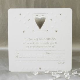 Luxury wedding evening invitations pack of 10 white silver by luxury wedding evening invitations pack of 10 white silver by jean barrington filmwisefo
