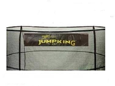 JumpKing 15' Enclosure Net for 5 Poles for 7'' Springs with JK Logo
