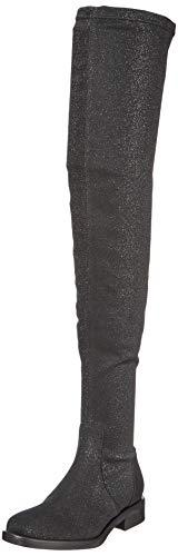 000 Ginocchio Stivali Socks Il Sopra Elastic black Nero Donna Pollini HfzwqvC