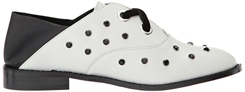 Shellys Women's White Flat London Hankie Oxford ArnABW
