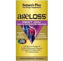 AgeLoss First Day Healthy Inflammation Response, 90 Tablets