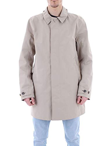 Barbour Men's Bacps1761st31 Beige Polyester Outerwear Jacket