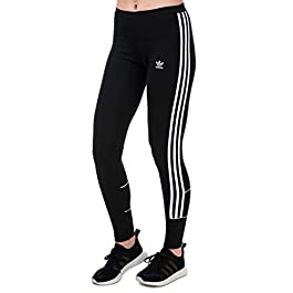 adidas Originals Womens 3-Stripes Leggings in Black