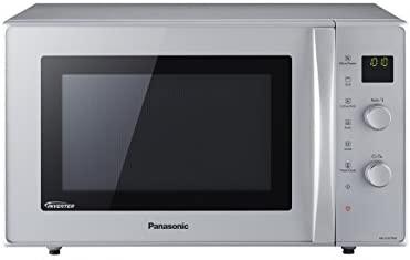 Panasonic NN-CD575 - Microondas Horno con Grill Combinado Slim (1000 W, 27 L, 6 niveles, Inverter, Grill 1300 W, 100-220ºC, 11 modos, plato giratorio ...