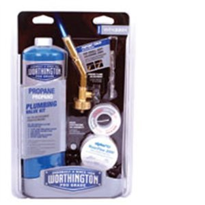 WORTHINGTON CYLINDER 312324 14.1 oz Self Igniting Propane Torch Kit