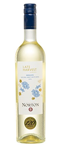 Bodega Norton Late Harvest Moscato Natural Sweet 2015 Lieblich (3 x 0.75 l)