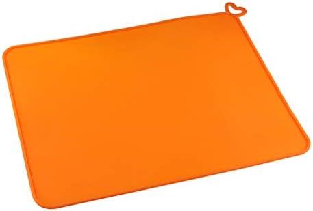 iplusmile 3D Stiftmatte Silikon Design Matte 3D Drucker Zubehör Dlp Sla Lichtempfindliche Harz Silikonmatte Dlp Schlagmatte (Orange)