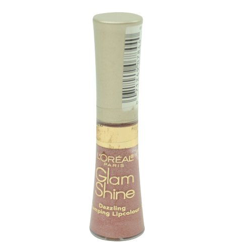 Loreal Glam Shine (L'Oreal Glam Shine Plumping Lip Gloss, Muse #500)