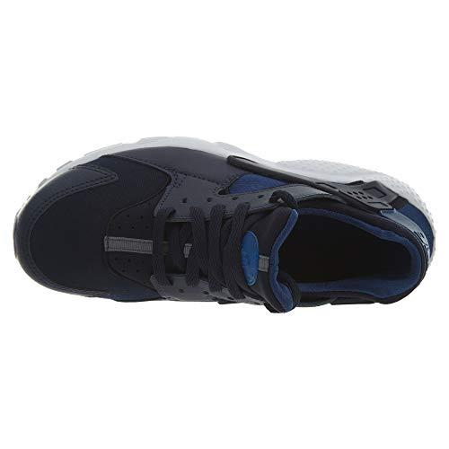 Gs Huarache Blue Eu Run White Synthetic Nike Formateurs 38 Youth textile 5 Uwp5qtq