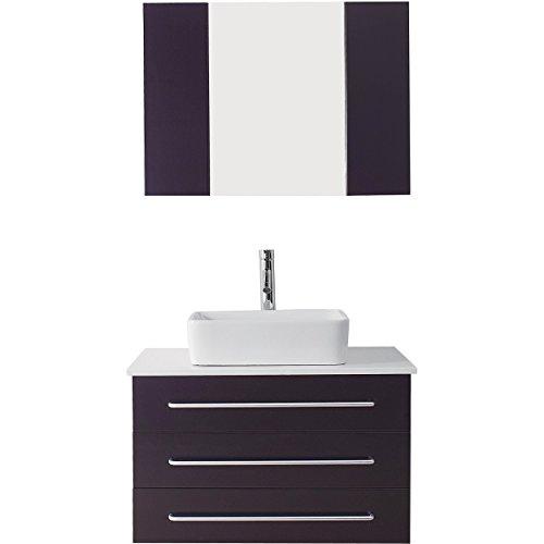 Virtu UM-3057-S-ES Ivy Single Bathroom Vanity Cabinet Set, 32
