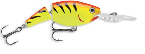 Rapala Jointed Shad Rap 04 Fishing lure, 1.5-Inch, Hot Tiger