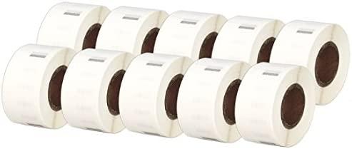 Printing Saver 10x 99017 50 x 12 mm Rollos de Etiquetas Adhesivas ...