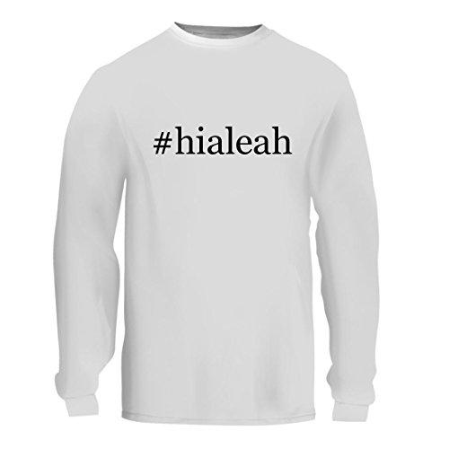 #hialeah - A Nice Hashtag Men's Long Sleeve T-Shirt Shirt, White, - Fl Hialeah Us