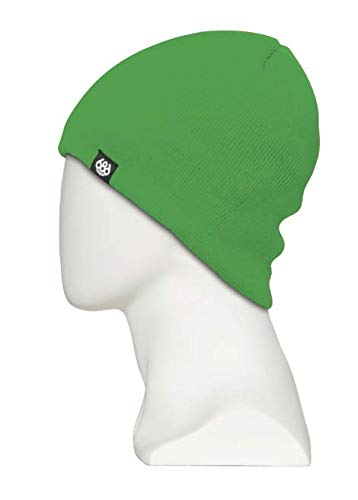 - 686 Basic Knit Beanie with 686 Logo | 100% Acrylic | One Size - Green