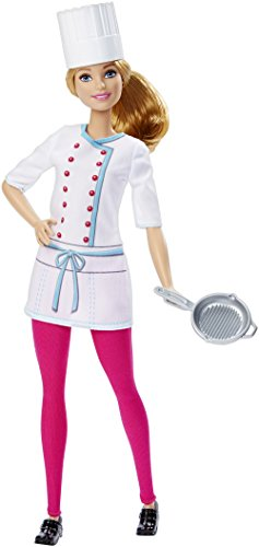 Barbie Careers Chef Doll - Barbie And Ken Box Costume